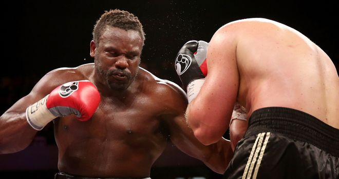 Dereck Chisora: Tops the bill at the Copper Box Arena on Saturday