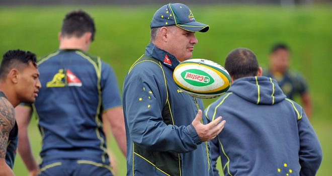 Ewen McKenzie: Encouraged by Wallabies progress on autumn tour