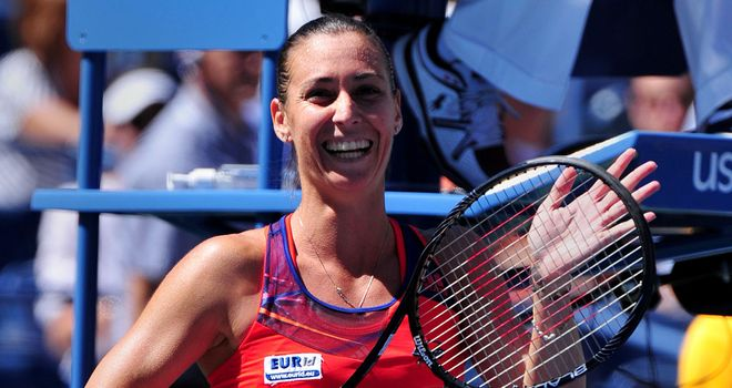 Flavia Pennetta: Was a big winner in Indian Wells earlier this year