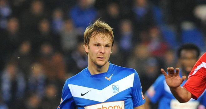 Genk's Julien Gorius: Scored in the second half for the away side