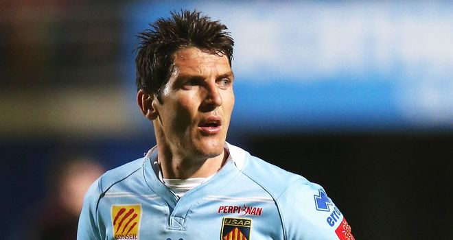 James Hook: Has agreed a new Perpignan contract