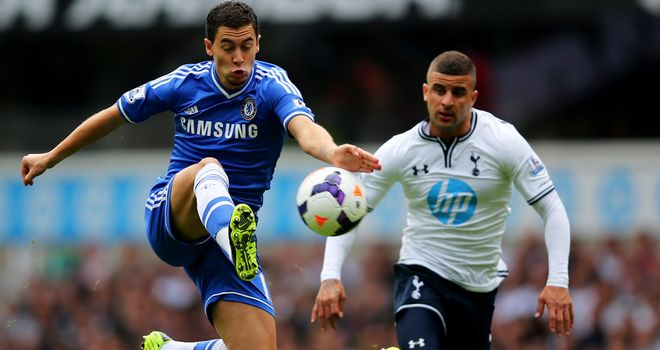 There was nothing to choose between the sides as Tottenham and Chelsea drew 1-1