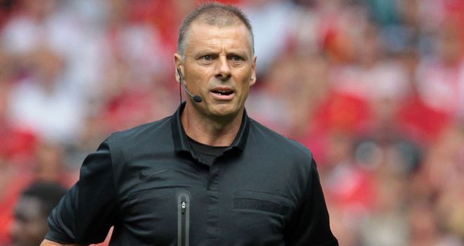Mark Halsey: Says pressure on referees is increasing all the time