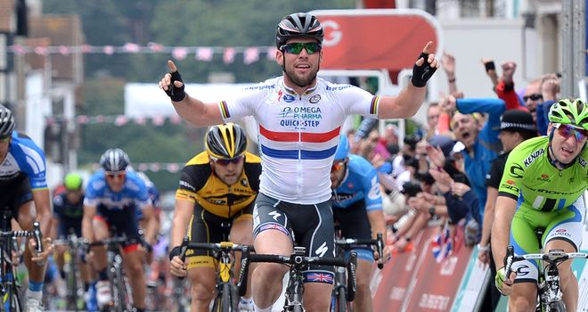 Mark Cavendish has now won nine stages at the Tour of Britain