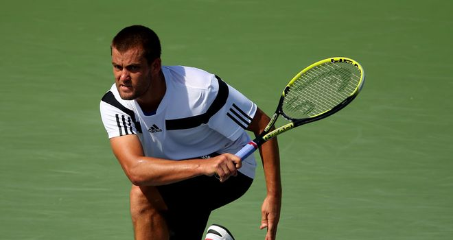 Mikhail Youzhny: The home favourite was beaten by Guillermo Garcia-Lopez