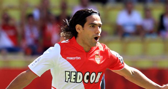 Radamel Falcao scored the winning goal