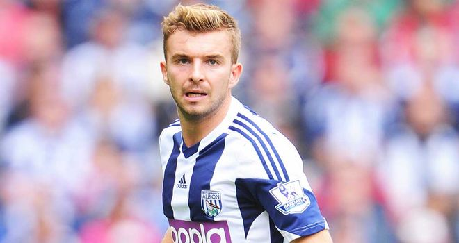 James Morrison: West Brom midfielder is likely to miss Scotland matches through injury