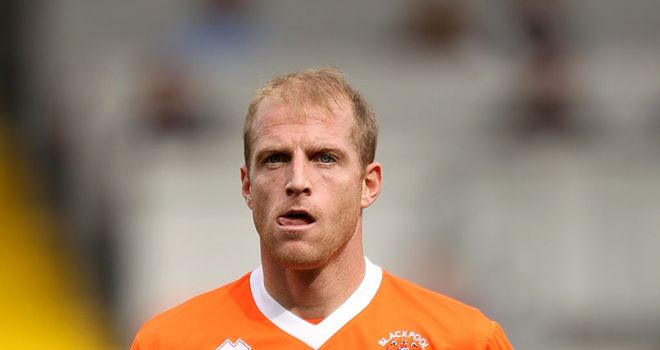 Neal Bishop: On the scoresheet for Blackpool