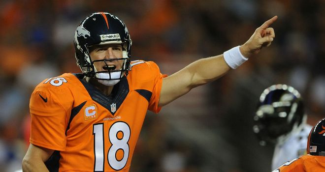 Peyton Manning was the top dog in Week One