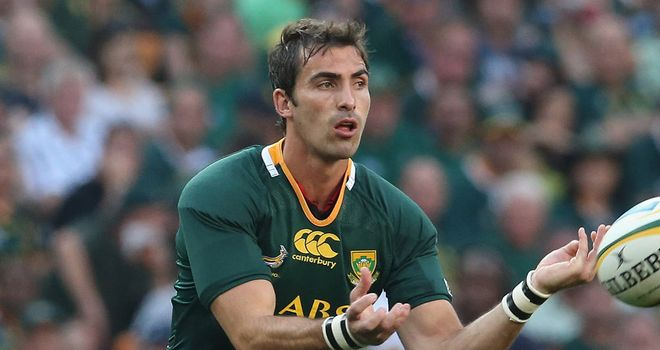 Ruan Pienaar: New contact with Ulster