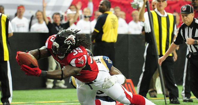 Steven Jackson: Injured for Atlanta against St Louis