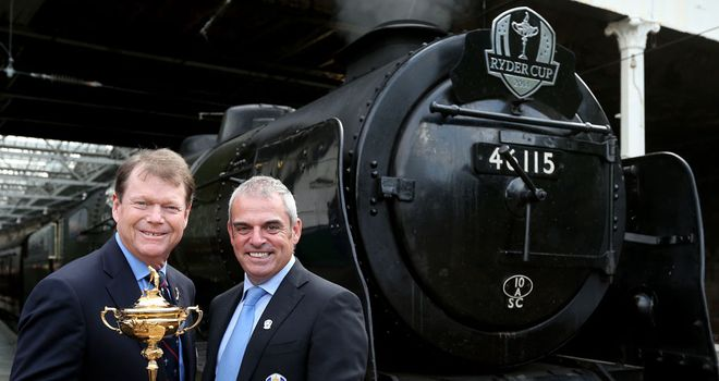 Ryder Cup Captains Tom Watson and Paul McGinley disagree on the use of wildcards selections