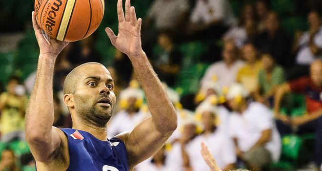 Tony Parker was in great form for France