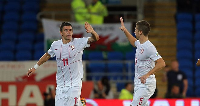 Aleksandar Kolarov: Manchester City man was on target against Macedonia