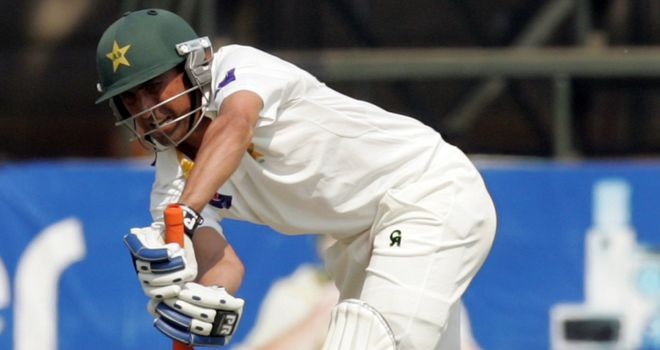 Younis Khan: only the fourth Pakistan batsman to pass 7,000 Test runs