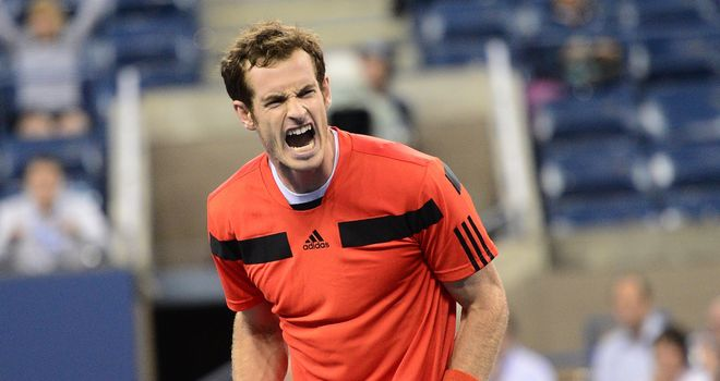 Andy Murray: Struggled to adapt to cooler conditions