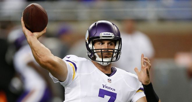 Christian Ponder: Minnesota quarterback led team to play-offs last season