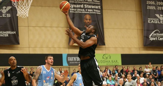 Darius Defoe: Scored 19 points for the Newcastle Eagles