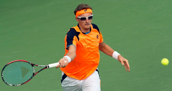 Denis Istomin: lost in straight sets to Andy Murray in Brisbane earlier this year in pair's only previous meeting