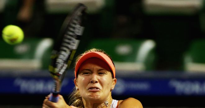 Eugenie Bouchard: Saw off the challenge of Jelena Jankovic
