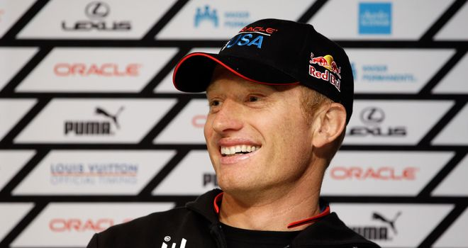 Jimmy Spithill: Wants fans to know the sailors can hear them cheering