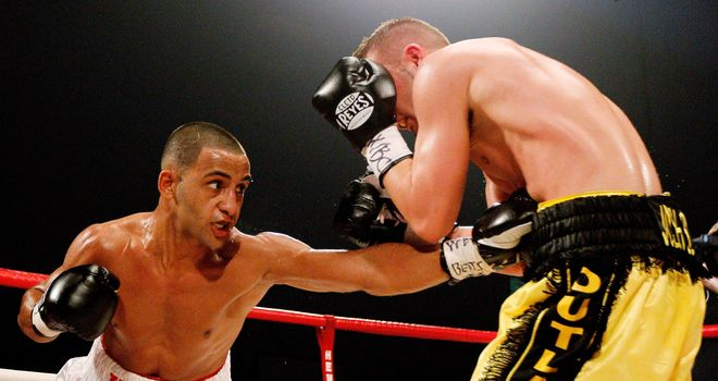 Kid Galahad: Has his sights set on the big names in the super-bantamweight division