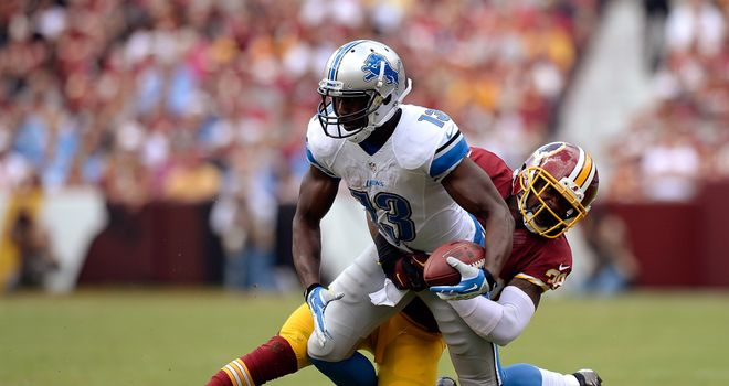 Nate Burleson: Led the Lions with 116 receiving yards in victory over Redskins