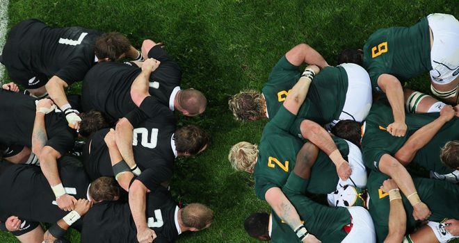 New Zealand and South Africa will collide again as the top two favourites for the title