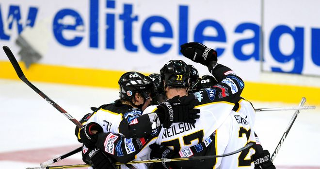 Another success north of the border leaves Nottingham Panthers hot on the heels of Dundee