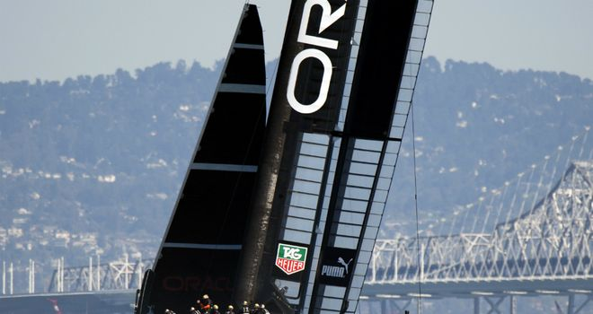 Oracle Team USA powering towards epic comeback