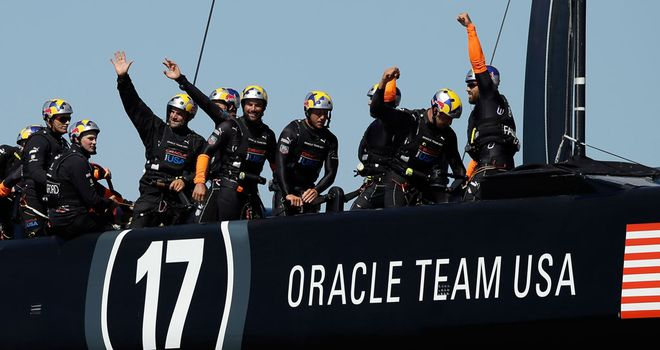 Oracle Team USA: Thrilling comeback in San Francisco