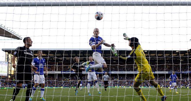 Steven Naismith enjoys a birthday to remember as his goal got Everton their first win of the season