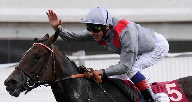 Frankie Dettori will be hoping for more success on Saturday