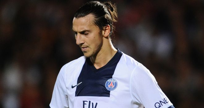 Zlatan Ibrahimovic: Struggling with a knee injury