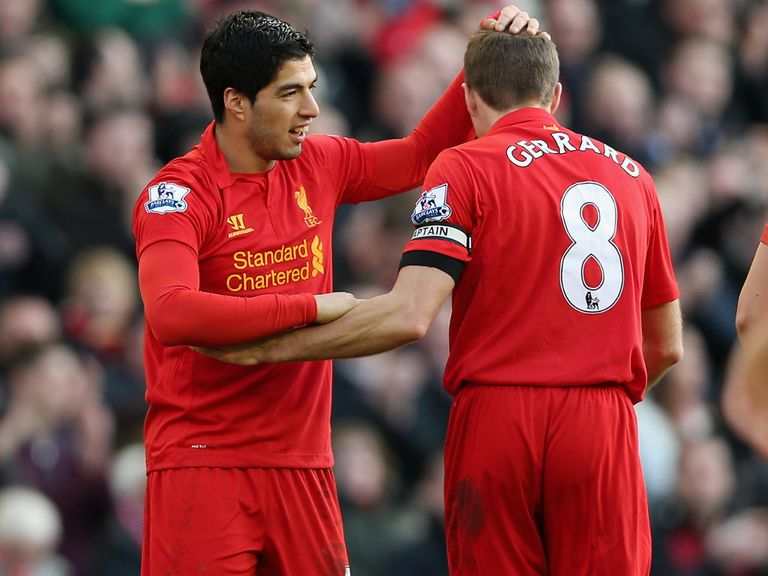 Steven Gerrard: Thrilled Liverpool kept hold of Luis Suarez