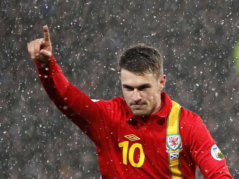 Aaron Ramsey: Fitness boost for Wales