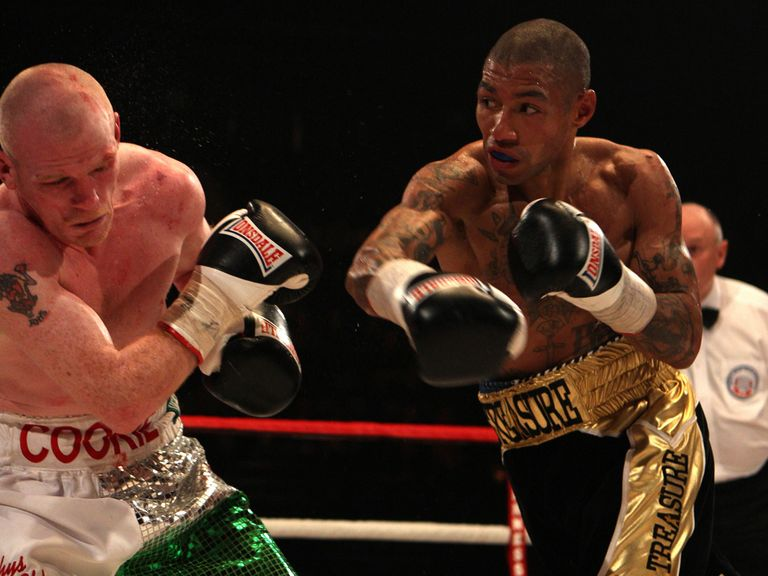 Ashley Theophane (r): Has his sights set on a world title