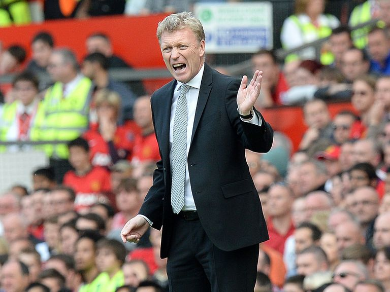 David Moyes: Finds himself under pressure