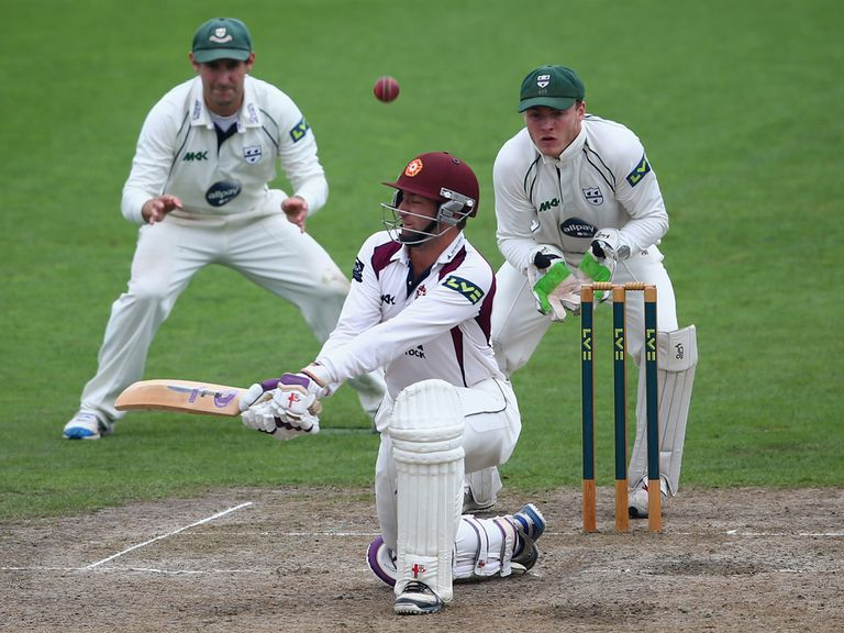 David Murphy in action for Northants