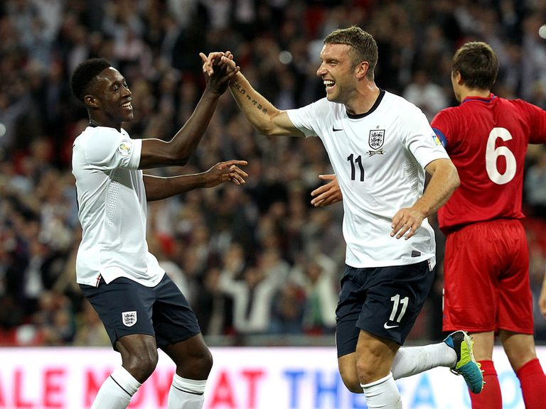 Lambert: Impressive start to England career