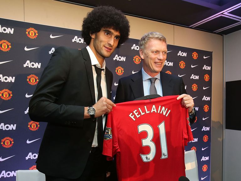 Marouane Fellaini: Sad to see former boss depart