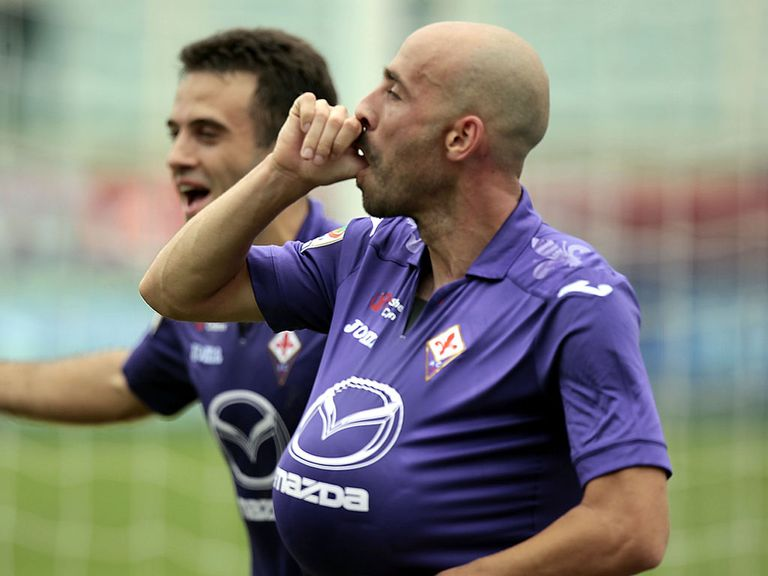 Fiorentina were unable to hold onto their lead