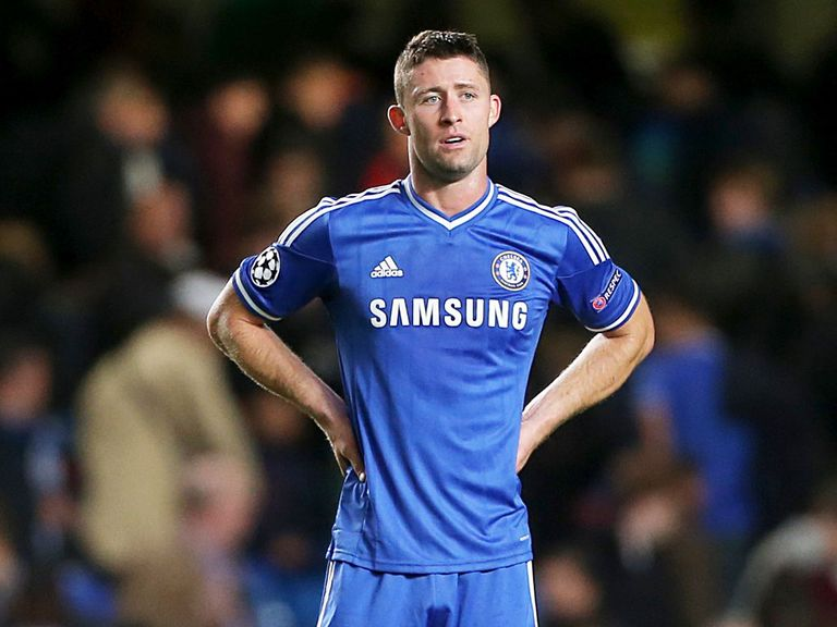 Gary Cahill: Laughed off suggestions Chelsea were planning to 'park the bus'
