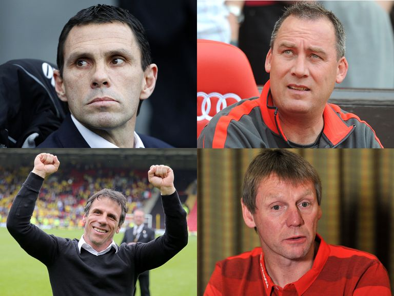 Poyet, Meulensteen, Zola and Pearce have all been linked with Sunderland.