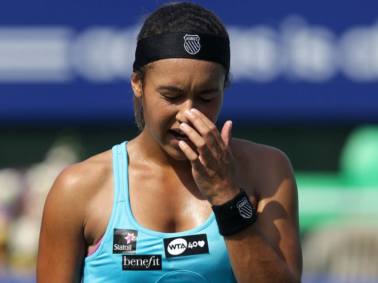 Heather Watson: Defeated