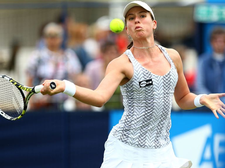 Johanna Konta: Won an epic contest in China