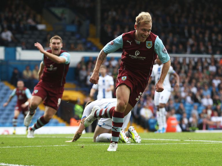 Burnley can celebrate a 1-0 victory over QPR.