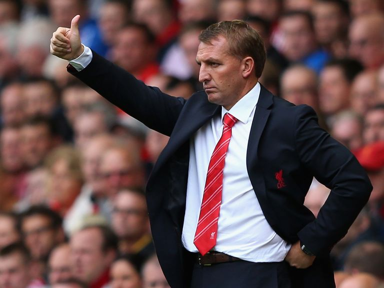 Brendan Rodgers: Happy to change his system