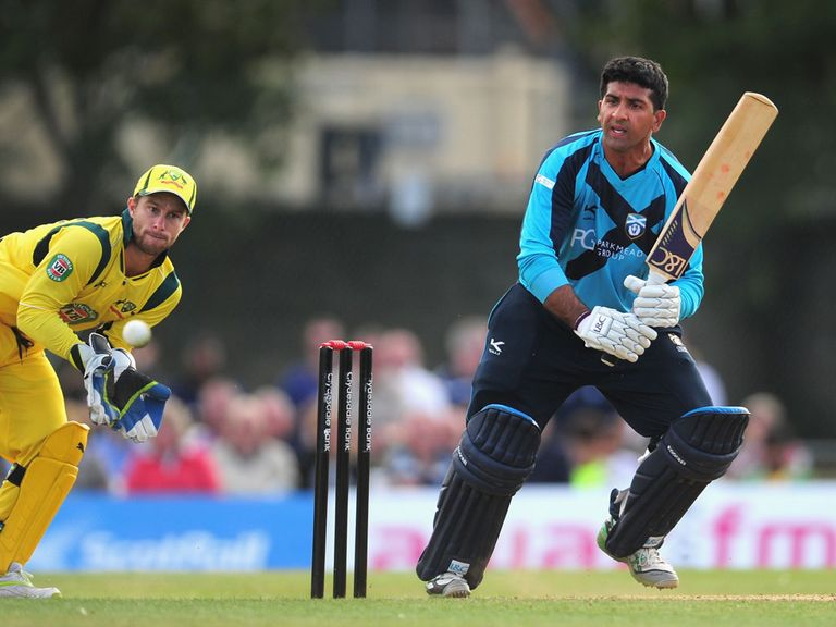 Majid Haq: Shocked by heavy Australia defeat