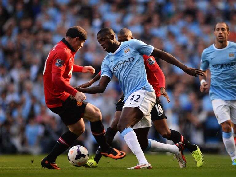 Wayne Rooney and Yaya Toure could be key in the Manchester derby